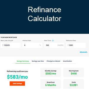 Calculator - Refinance Calculator